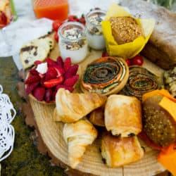 Brunch mariage végétarien My Green Event