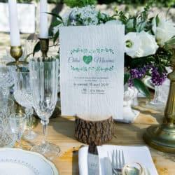 Faire part ensemence mariage My Green Event