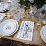 Vaisselle vintage mariage My Green Event