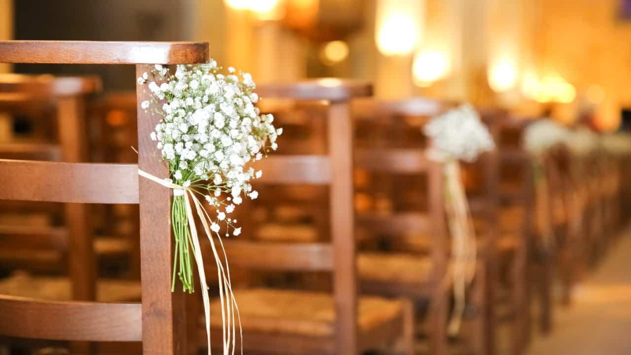 Decoration eglise mariage My Green Event