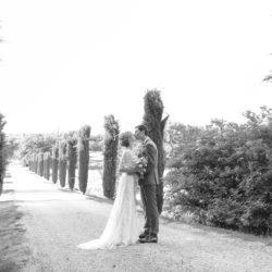 Photo couple noir et blanc mariage My Green Event